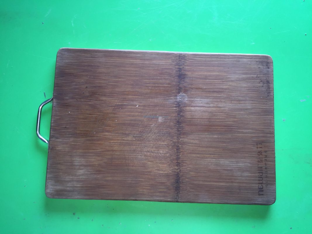 Figure 3: A Wooden Breadboard