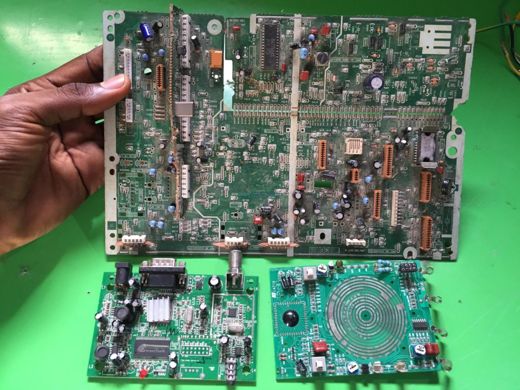 Figure 2: Printed Circuit Boards (PCB)