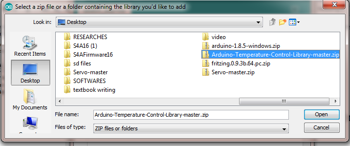 Installing Arduino Library Using Add.ZIP Library in the Arduino IDE 2