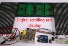 Photo of How to Make a Scrolling Text Display With Arduino