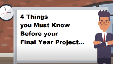 Photo of 4 Things you Must Know Before your Final Year Project (FYP)
