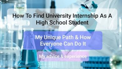 Photo of How to Find University Internship as a High School Student