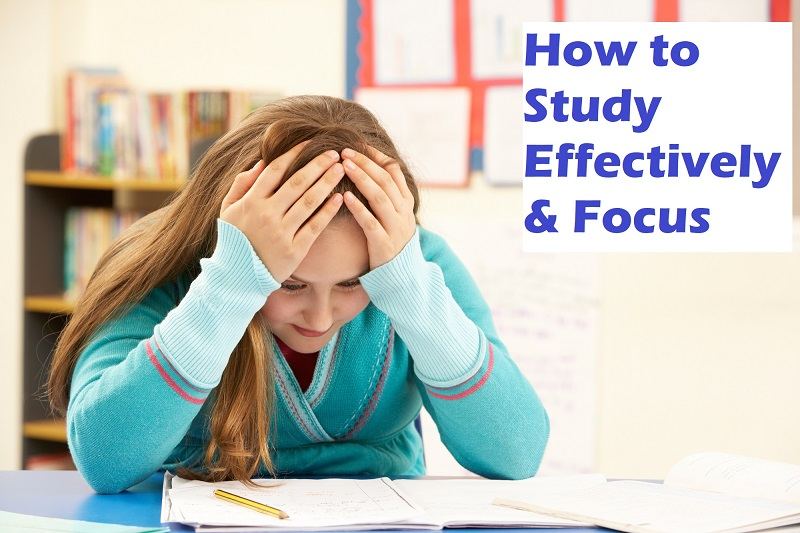 How to Study Effectively & Focus, Sleepy when Studying?