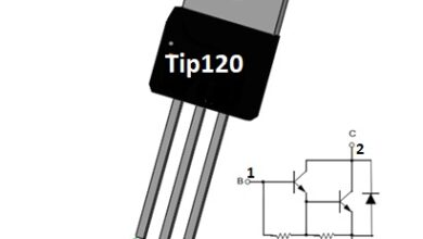 Photo of TIP120 Linear Switching Transistor
