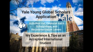 Photo of Yale Young Global Scholars Application – My Experience and Tips