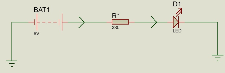 current limiting resistor circuit