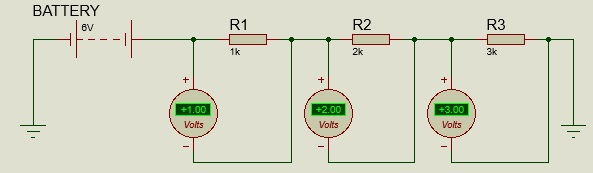 voltage divider measurement