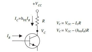 collector voltage calculation