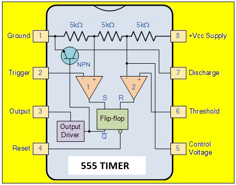 555 timer pin configuration