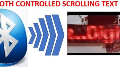 Photo of How to make a Bluetooth controlled digital scrolling text display