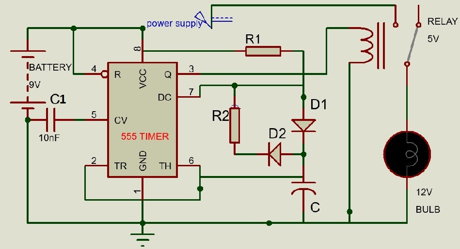 circuit modified for duty cycle