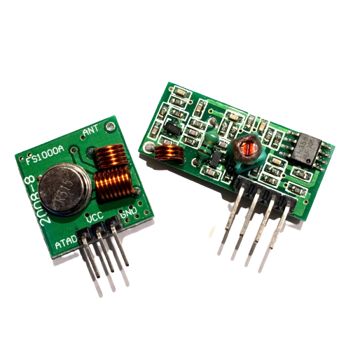 Radio frequency transmitter and receiver