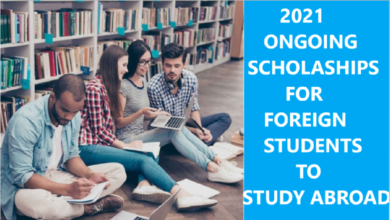 2021 scholarships for international students to study abroad
