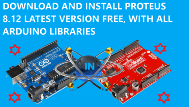 Proteus 8.12 latest version with crack and ARduino libraries